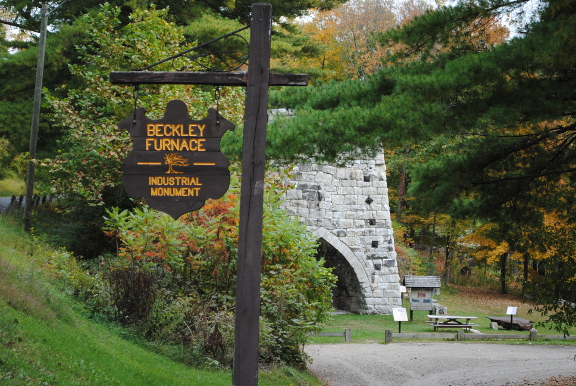 Beckley Furnace sign