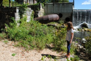 Penstock at Beckley Furnace