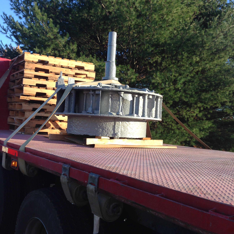 Turbine on the truck