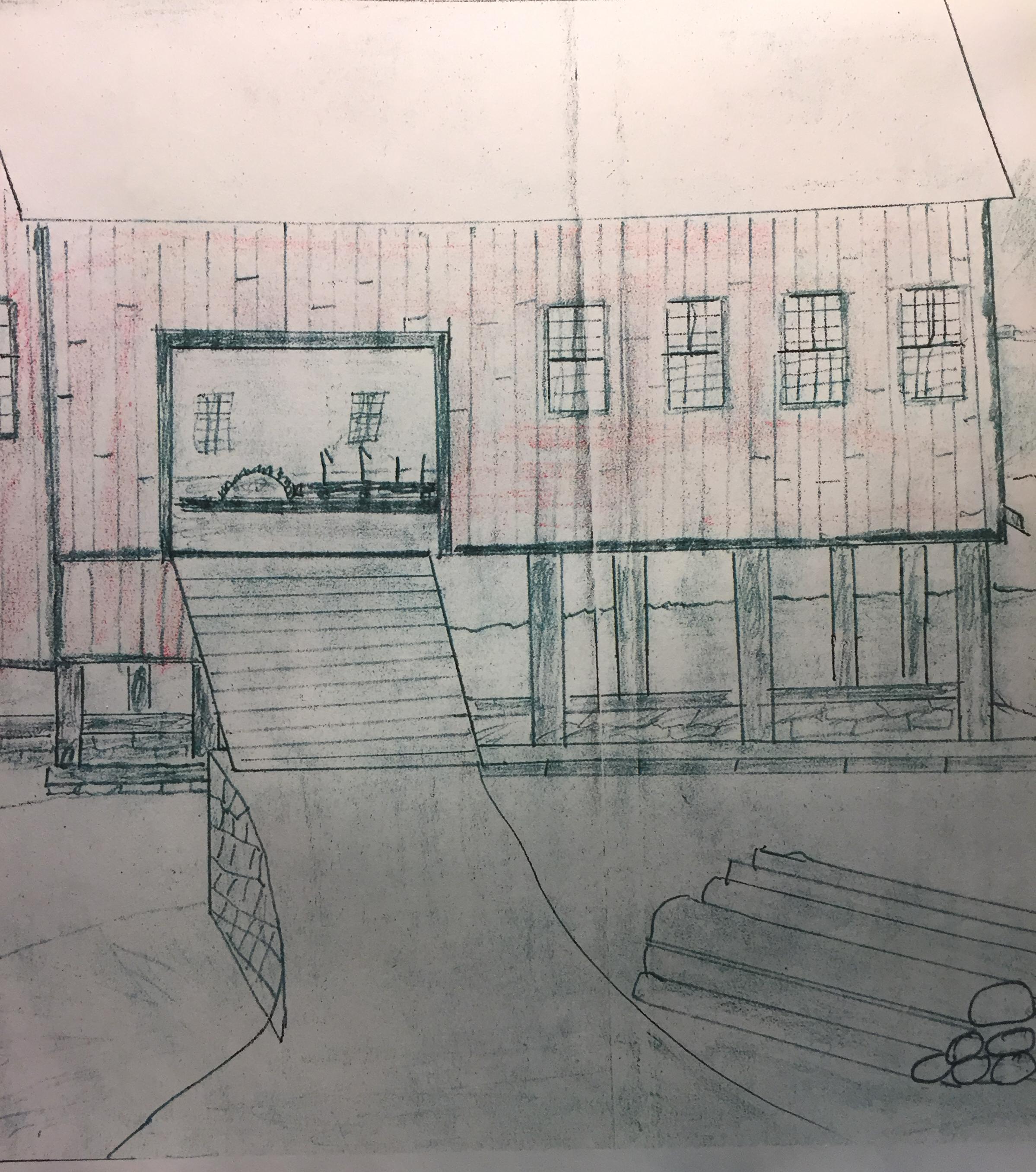 Sawmill sketch